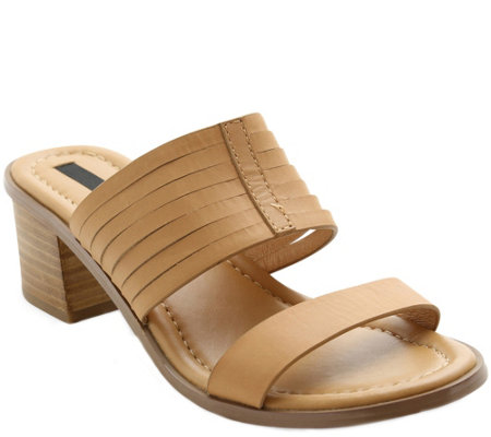 Kensie Slip-on Heel Sandals - Halanie