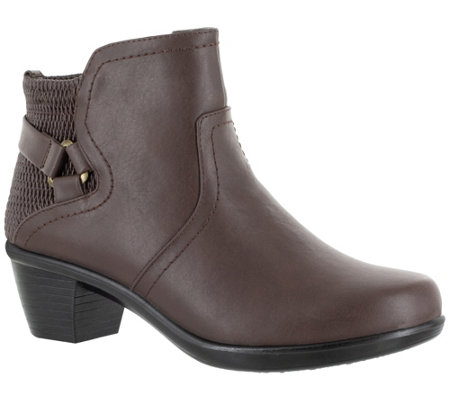 Easy Street Ankle Boots with Inside Zip -Dawnta