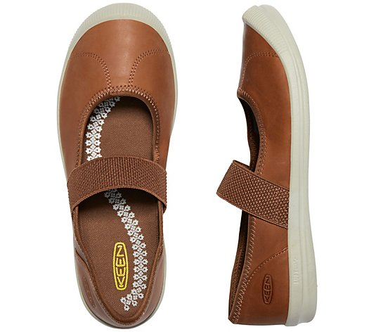 KEEN Leather Mary Jane Slip-on Shoes - Lorelai