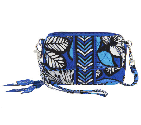 ee814c8dbac Vera Bradley Signature Print All in One Crossbody - Page 1 — QVC.com