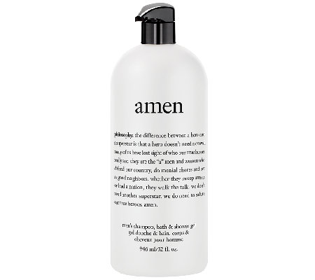 philosophy 32 oz amen men's shower gel Auto-Delivery