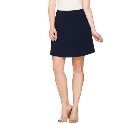 Wicked by Women with Control Petite Pull-on Skort