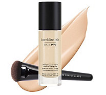 bareMinerals barePro Liquid Foundation w/ Luxe Brush - A291486