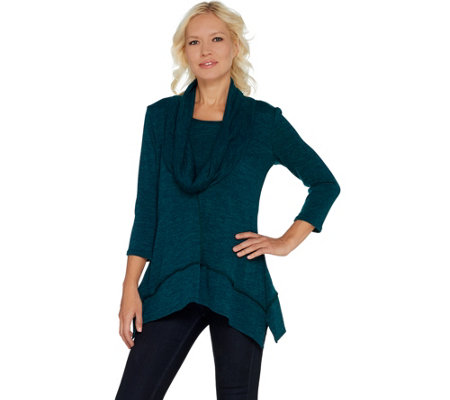 Laurie Felt Cozy Cowl Neck Long Sleeve Sweater