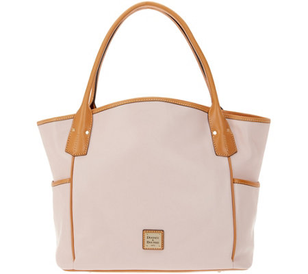 Dooney & Bourke Smooth Leather Tote Handbag - Kristen