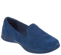 Skechers GOstep Lite Suede Slip-On Shoes - Delight - A309486