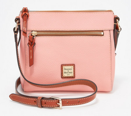 Dooney & Bourke Pebble Leather Allison Crossbody Handbag