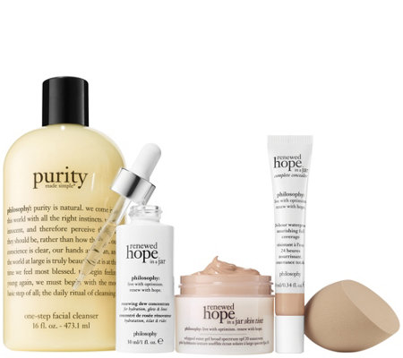philosophy hope shines 5-piece renewed skin kit Auto-Delivery