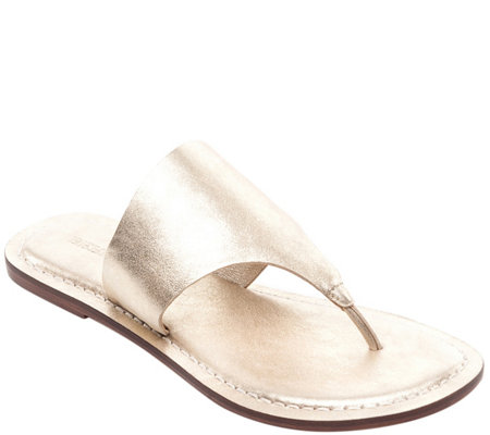 Bernardo Leather Sandals - Monica