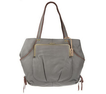 Muxo by Camila Alves Soft Pebble Leather Tote