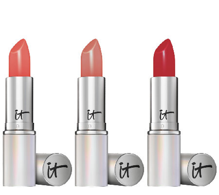 IT Cosmetics Blurred Lines Smooth Fill Anti-Aging Lipstick Trio