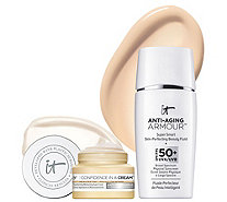 IT Cosmetics Anti-Aging Armour SPF 50 w/ Confidence In A Cream Duo - A293787