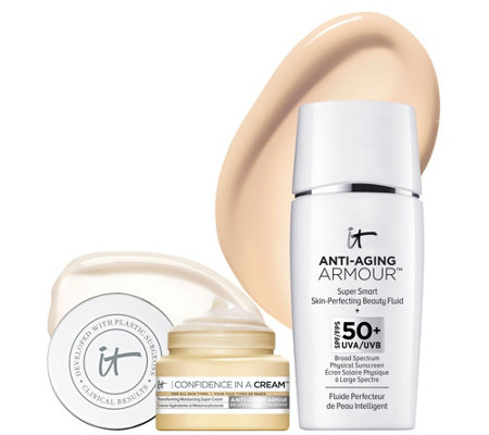 IT Cosmetics Anti-Aging Armour SPF 50 w/ Confidence In A Cream Duo