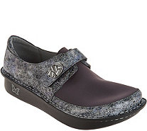 Alegria Dream Fit Leather and Neoprene Slip-ons - Dena - A294987