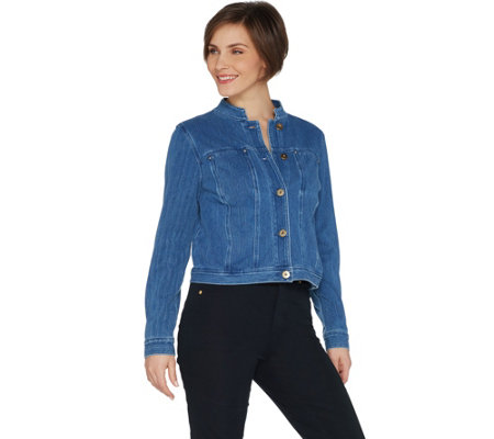Belle by Kim Gravel Flexibelle Jean Jacket