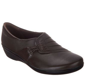 Clarks Leather Slip-On Shoes - Everlay Iris - A311487 07087242bb722
