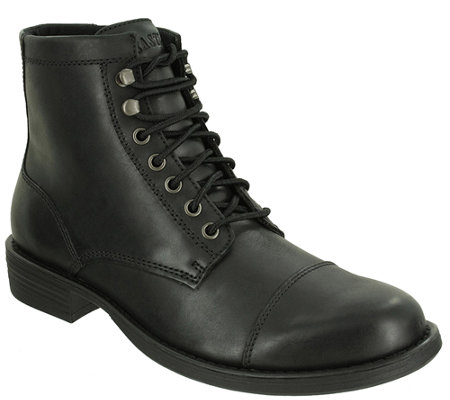 Eastland Men's Lace-up Leather Ankle Boots - High Fidelity