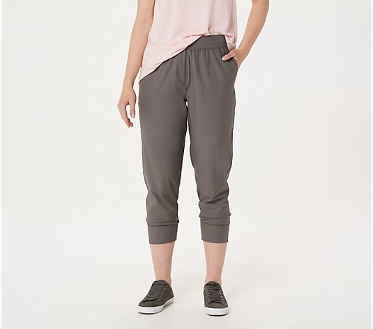 Isaac Mizrahi Live! Regular SOHO Quick Drying Jogger Pants