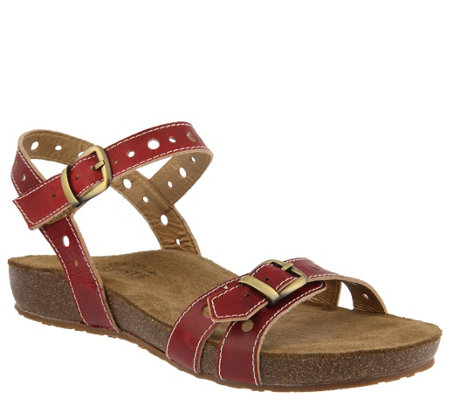L'Artiste by Spring Step Leather Sandals - Technic