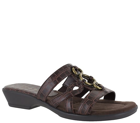 Easy Street Slide Sandals - Torrid