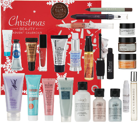 QVC Beauty Christmas AdventCalendar 24-piece Collection