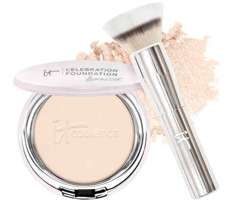 IT Cosmetics Celebration Foundation Illumination with Brush