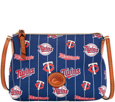 Dooney & Bourke MLB Nylon Twins Crossbody Pouchette