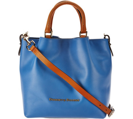 """As Is"" Dooney & Bourke Smooth Leather Small Barlow Satchel"