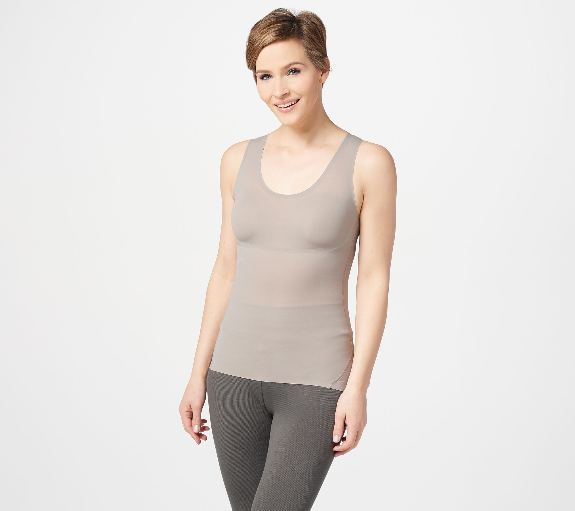 spanx thinstincts slimming shaping camisole vest top small bnwt