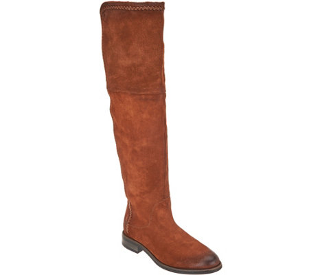 Miz Mooz Sueded Gored Tall Shaft Boots - Tracey