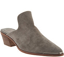 Vince Camuto Leather Slip-on Mules - Karcha - A343288