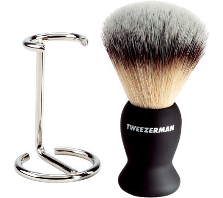 Tweezerman Shaving Brush & Stand