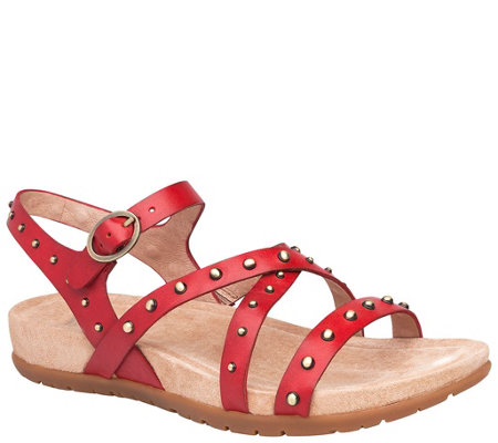 Dansko Open-Toe Strappy Leather Sandals - Brigitte