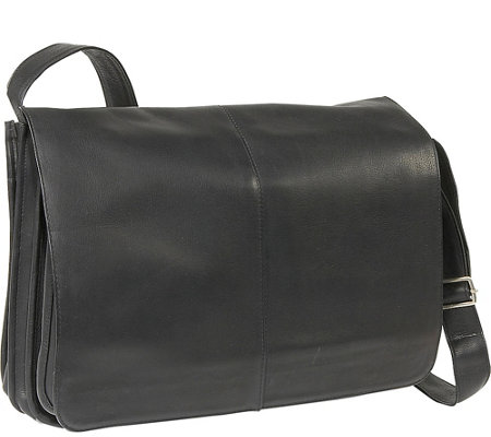 Le Donne Leather Quick Access Messenger Bag