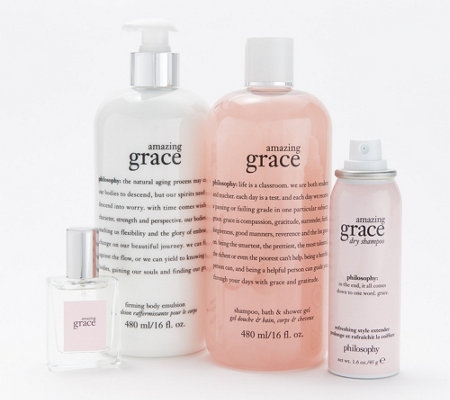 philosophy amazing grace 4-piece layering collection