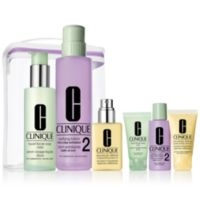 QVC.com deals on Clinique Great Skin Anywhere Set Skin 3-4 Jelly