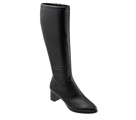 Trotters Wide Calf Classic Tall Boots - Kacee WC