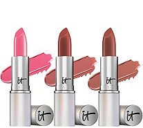 IT Cosmetics Blurred Lines Smooth Fill Best-Selling Lipstick Trio - A280489