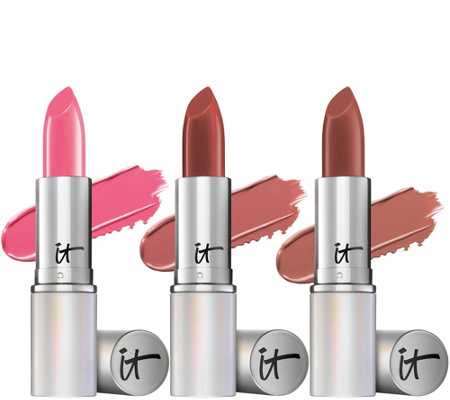 IT Cosmetics Blurred Lines Smooth Fill Best-Selling Lipstick Trio
