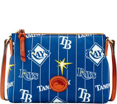 Dooney & Bourke MLB Nylon Rays Crossbody Pouchette