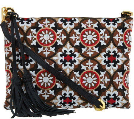 orYANY Embroidered Crossbody - Grace