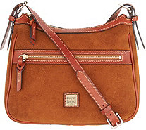 Dooney & Bourke Suede Crossbody Handbag - Piper - A309589