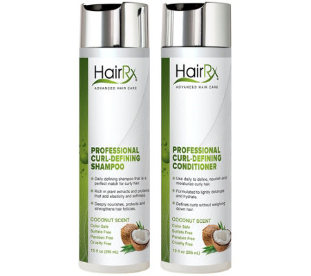 HairRx Professional Curl-Defining Duo Luxe Lather - Coconut