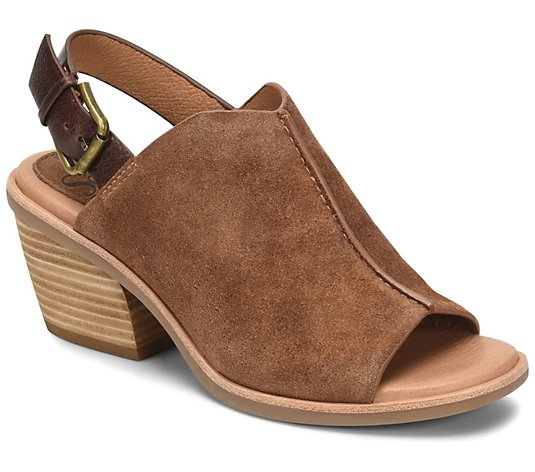 Sofft Leather Slingback Mules - Pelonia