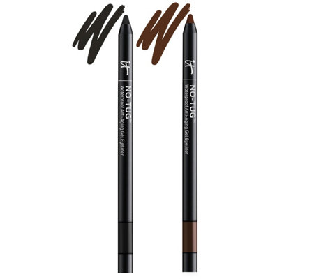IT Cosmetics No-Tug Anti-Aging Gel Waterproof Auto Eyeliner Duo