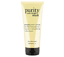philosophy purity made simple deep-clean mask, 6 oz. - A256890