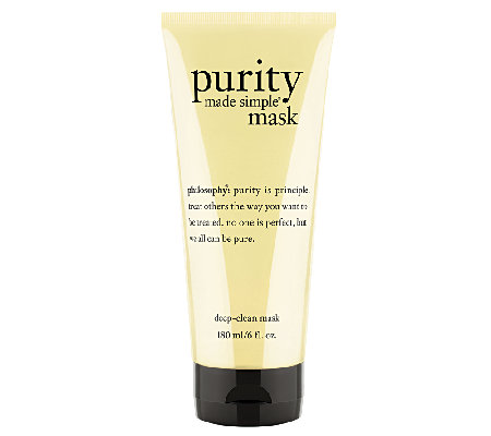philosophy purity made simple deep-clean mask, 6 oz.