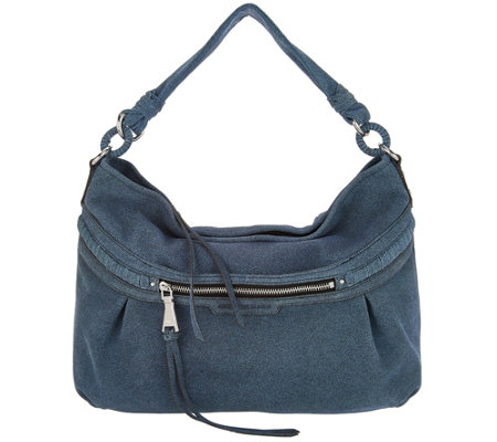 """As Is"" Aimee Kestenberg Leather Hobo - Layla"