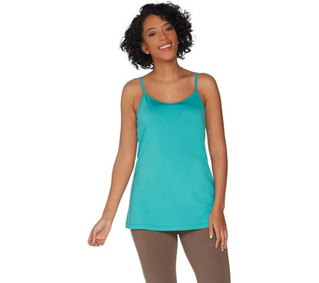 LOGO Principles by Lori Goldstein Cotton Modal Camisole