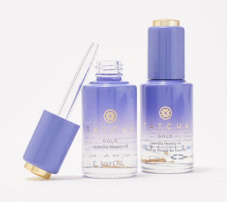 Tatcha Gold Camellia Beauty Oil Duo